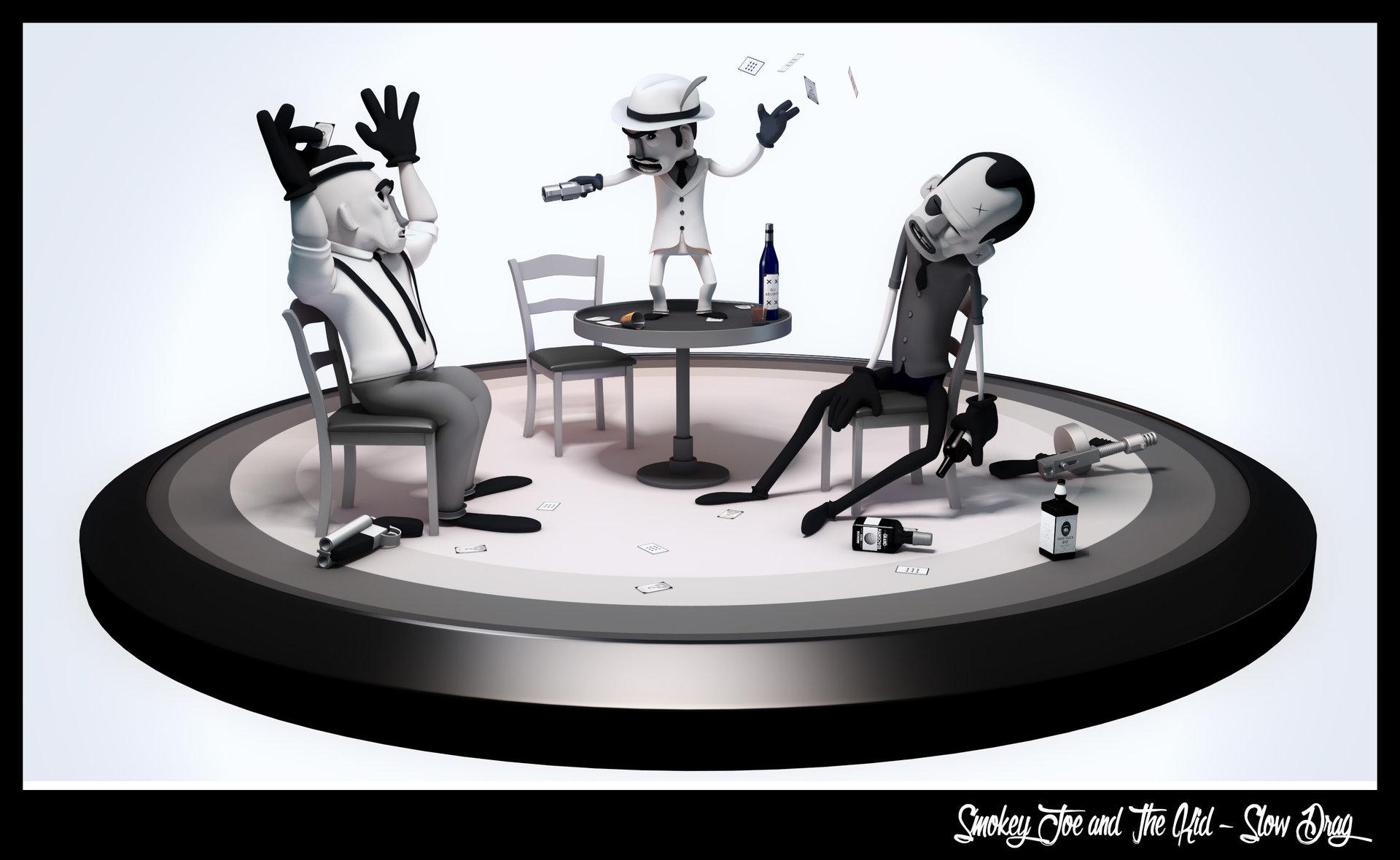smokey joe and the kid slow drag animation 3d paris victor jardel